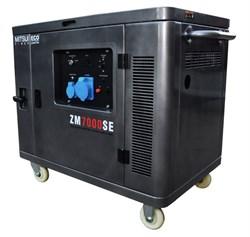 Генератор бензиновый Mitsui Power ECO ZM 7000 SE - фото 11093