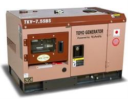 Генератор дизельный TOYO TKV-7.5SBS - фото 11144