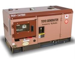 Генератор дизельный TOYO TKV-14TBS - фото 11352