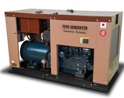 Генератор дизельный TOYO TG-30SPC - фото 11640