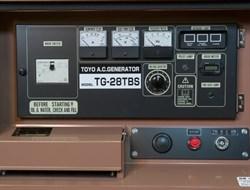 Генератор дизельный TOYO TG-28TBS - фото 11782