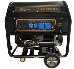 Генератор бензиновый Mitsui Power ECO ZM 22500 E - фото 12438