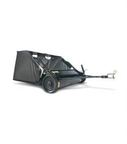 Щетка газонная с мусоросборником, 96см - фото 5688