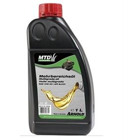 "Масло 4-тактное ""MTD"" SAE 10W-30, 1л - фото 6380"
