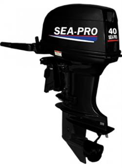 Лодочный мотор Sea-pro T 40JS водомет - фото 8073