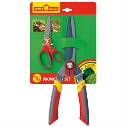 Ножницы для живой изгороди и ножницы многоцелевые набор WOLF-Garten HS-B/RA-X - фото 8241