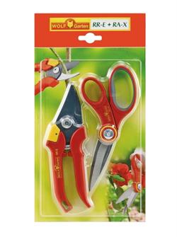 Ножницы многоцелевые и секатор в наборе WOLF-Garten RR-E/RA-X - фото 8257