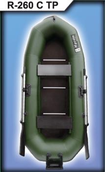 Гребная лодка Муссон R 260 С ТР - фото 9297