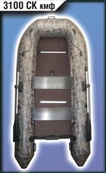 Моторно-гребная лодка Муссон 3000 СК кмф - фото 9402