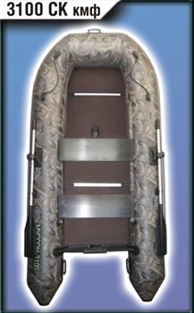 Моторно-гребная лодка Муссон 3100 СК кмф - фото 9404